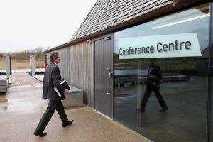 Brockholes - delegate arrival