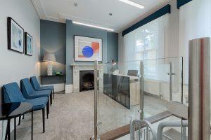Brighter Spaces - reception